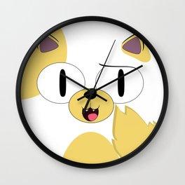 CAKE THE CAT Wall Clock