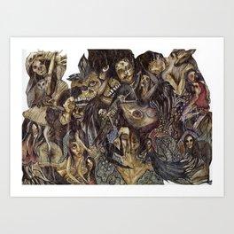 Dark Bloom Art Print