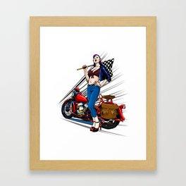 Flathead '42 Framed Art Print
