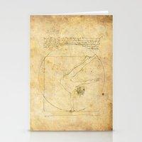 da vinci Stationery Cards featuring Break-Da (vinci) nce by boonheilig