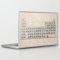 periodic table Laptop & iPad Skins featuring Periodic table by Florian Pasquier