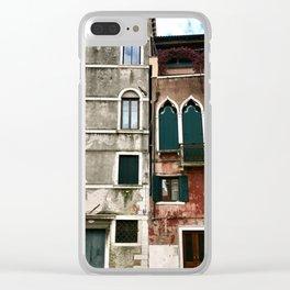 Venetian Windows Clear iPhone Case