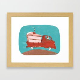 Crèmion Framed Art Print