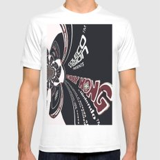 Cart spin Mens Fitted Tee MEDIUM White