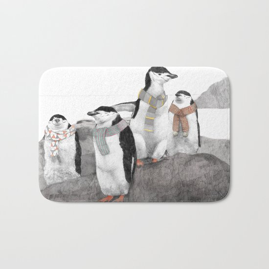 Penguins Bath Mat