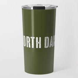 Deer: North Dakota Travel Mug