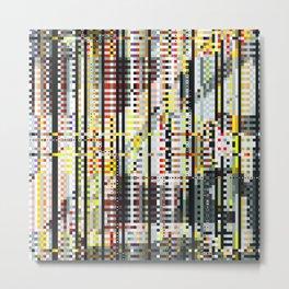city mosaic (day) Metal Print