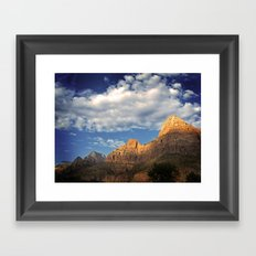 What Happens In Zion Stays In Zion Framed Art Print