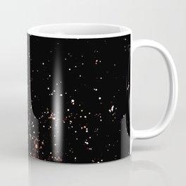 Red Space Watercolor Coffee Mug