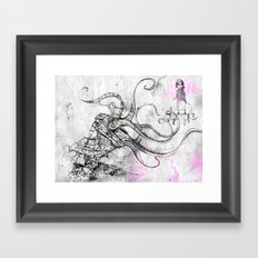 Construct Framed Art Print