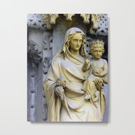 Holiest Mother and Child, View II Metal Print