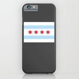 Chicago Flag Gift Lake Michigan Chicago Illinois iPhone Case