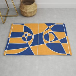 Time Out | Blue Mustard Rug