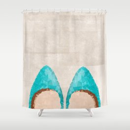 Magical Shoes Shower Curtain