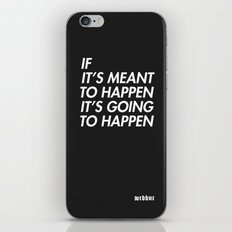 Mean to happen /2/ iPhone & iPod Skin