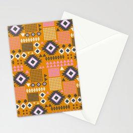 Rustic southwestern motifs Stationery Cards
