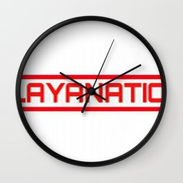 PlayaNationMG RW 2-Tone Wall Clock