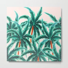 Coconut Trees #society6 #decor #buyart Metal Print