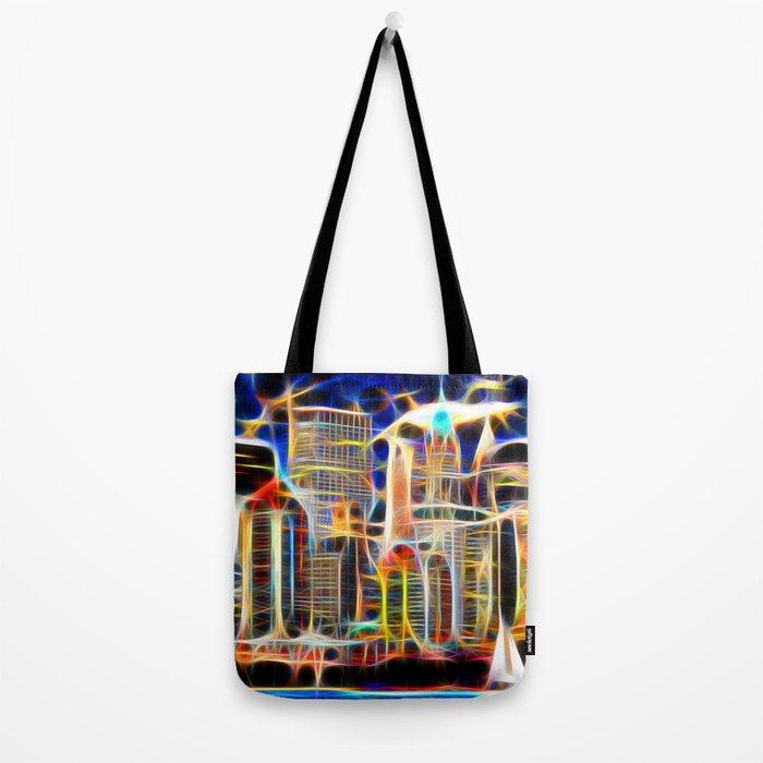 NY. Manhattan Tote Bag
