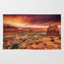 Arches at Sunset Rug