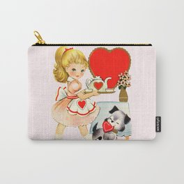 Valentine Tea Party Carry-All Pouch