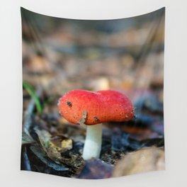 Mushroom Wall Tapestry