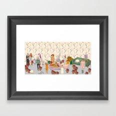 XmasParty! Framed Art Print