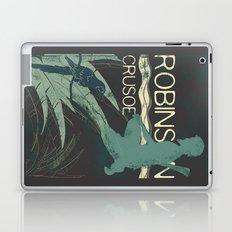 Books Collection: Robinson Crusoe Laptop & iPad Skin