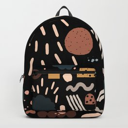 Geo Shapes Luxe Backpack
