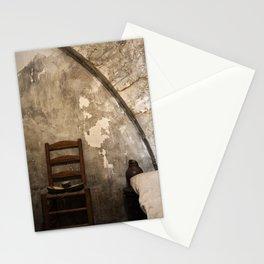 A cell in La Conciergerie de Paris Stationery Cards