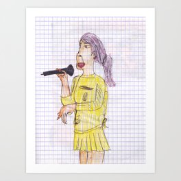 Pop Princess MTV Live 1999 Art Print