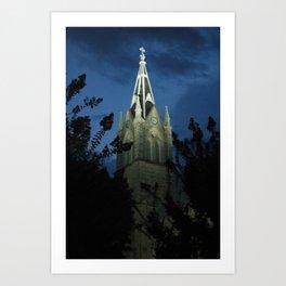 Lutheran Church Art Print