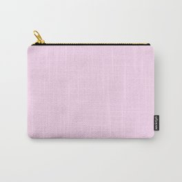 Pink Lace -solid color Carry-All Pouch