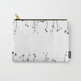 Plant Silhouette Carry-All Pouch