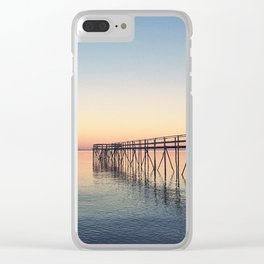 Pier at Matlock Clear iPhone Case