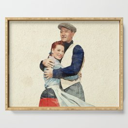 The Quiet Man - Watercolor Serving Tray