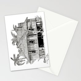 Rumah Kampung (Large) Stationery Cards