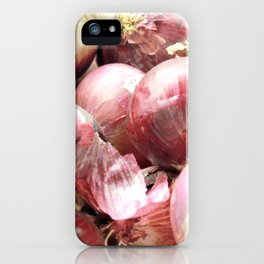 Red Onion Photography iPhone Case