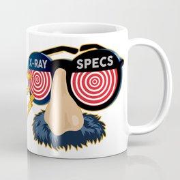 X-Ray Beaglepuss Specs Coffee Mug