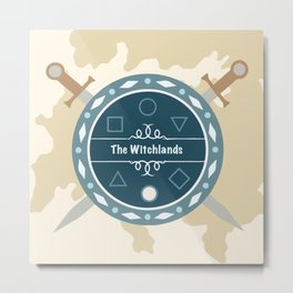 The Witchlands Metal Print