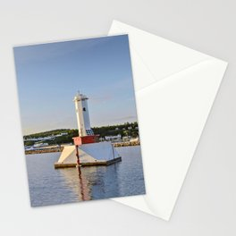 Light house at Mackinac Island - Michigan Stationery Cards