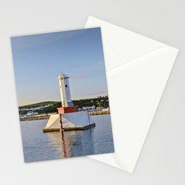 Light house at Mackinac Island - Michigan Stationery Cards