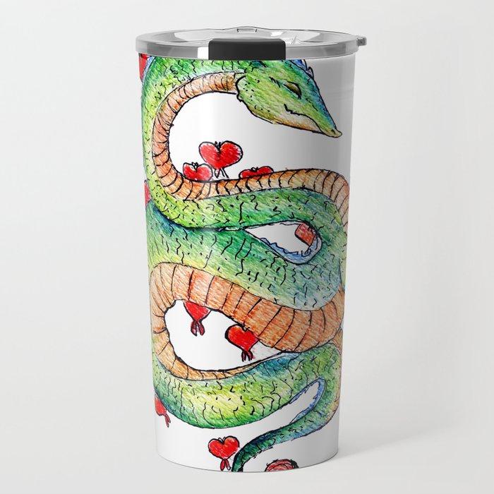 Chinese Zodiac: Dragon Travel Mug by stellaelhorst