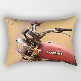 Vintage motorbike  Rectangular Pillow