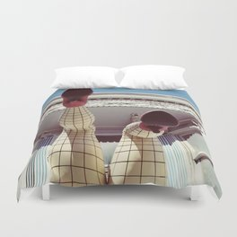Pin up girl Duvet Cover