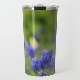 Grape Hyacinth in Spring Travel Mug