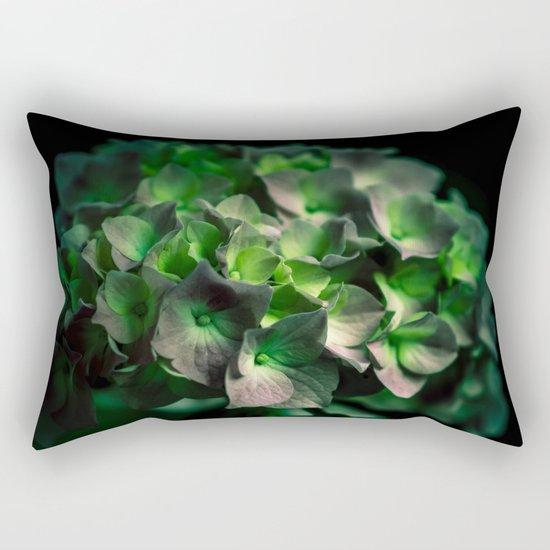 Fiore Verde Rectangular Pillow