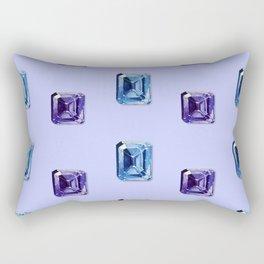 Step-Cut Pattern Rectangular Pillow