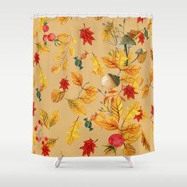 fall autumn Shower Curtain