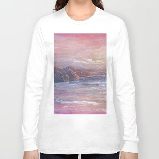 Landscape in Pink MM150601 Long Sleeve T-shirt